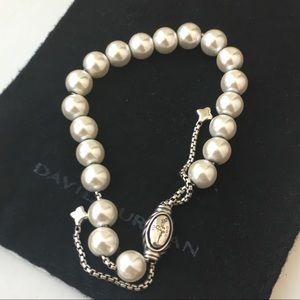 David Yurman Pearl Spiritual Bracelet